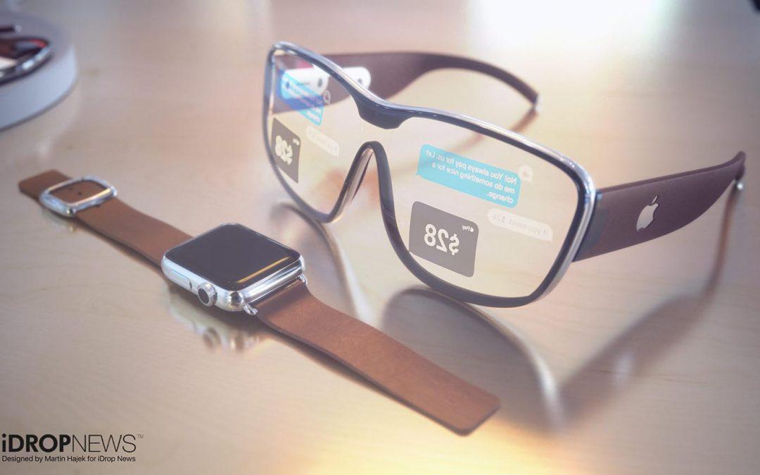 Les lunettes connectées d'Apple pour 2022