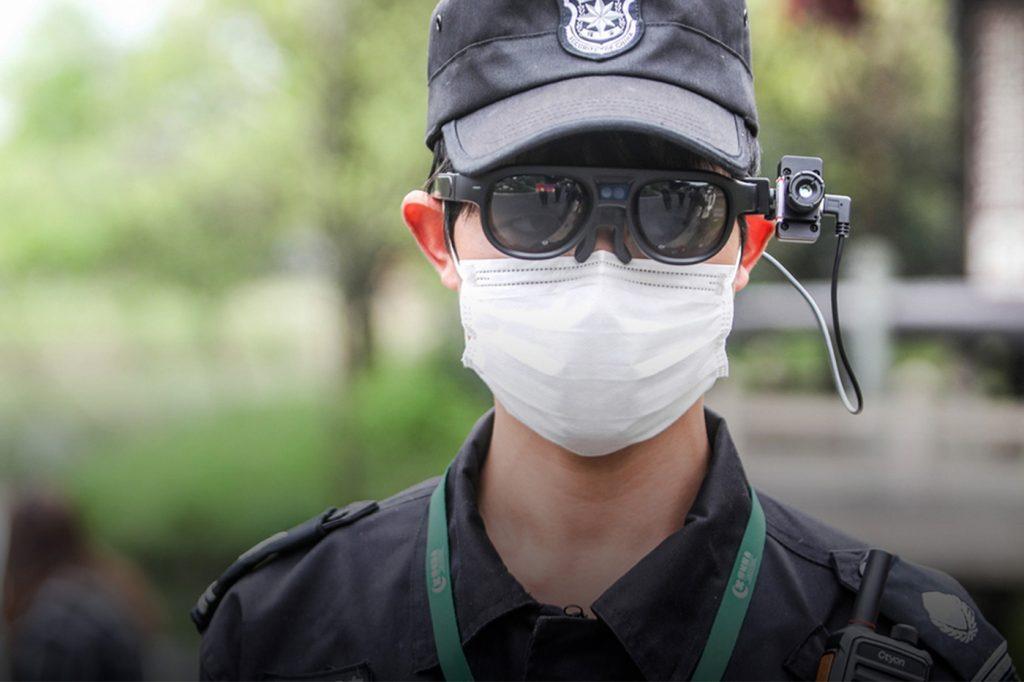 lunettes connectées contre le coronavirus