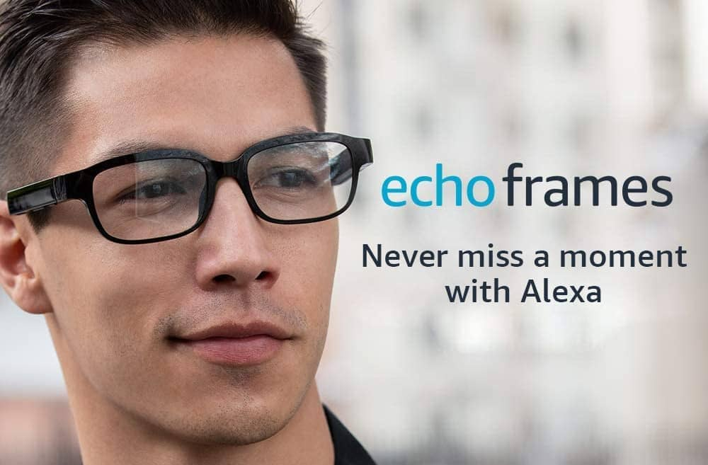 amazon echo frames lunettes connectées alexa
