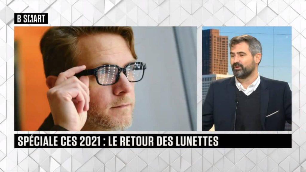 interview Jérôme Bouteiller lunettes connectées CES 2021