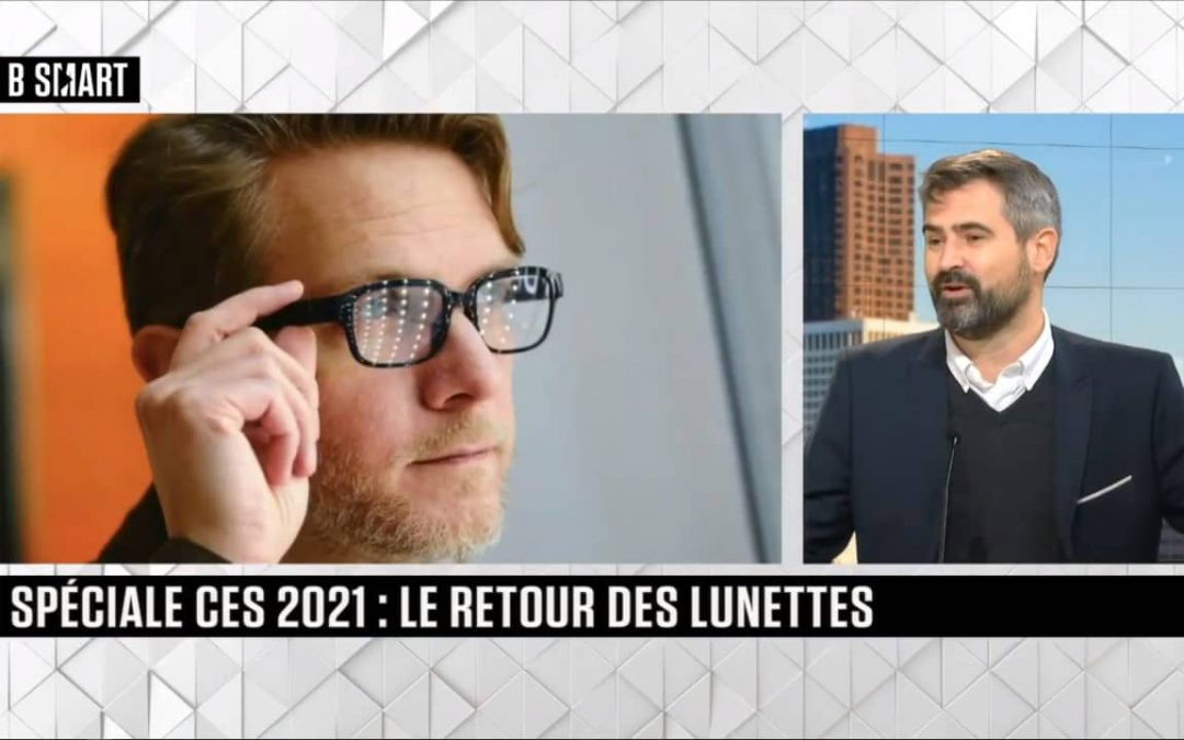 Interview : Jérôme Bouteiller fait le point sur les lunettes connectées suite au CES 2021
