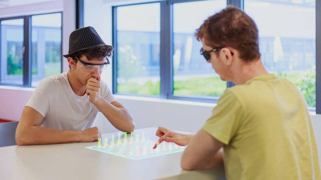 apple glass termal touch réalité augmentée