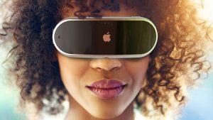 casque de réalité mixte Apple