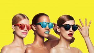 lunettes Snapchat avec réalité augmentée