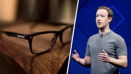 Mark Zuckerberg confirme que Facebook se prépare à lancer ses lunettes connectées